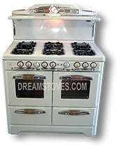 1953 O'Tappan Model - OK-90 in White Porcelain, with Restored Original Handles