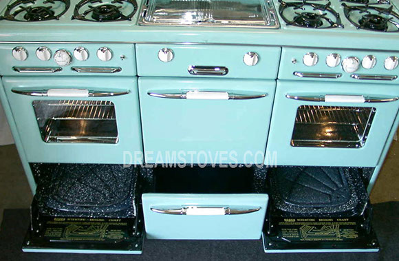 1947 Roper Town Amp Country In In Turquoise Blue With Glass