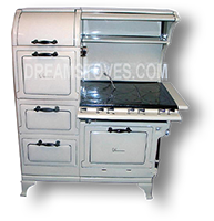 1923 Wedgewood Double Oven Antique 'Estate Stove' in Almond Porcelain Available from DreamStoves.com