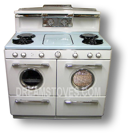 1954 Western-Holly Continental with Blue Cook Top